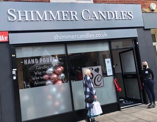 Shimmer Candles