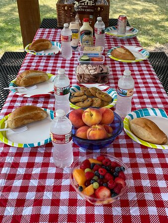 Scrumptious Picnic Lunches on all full day Private Tours of the Black Hills or Badlands.