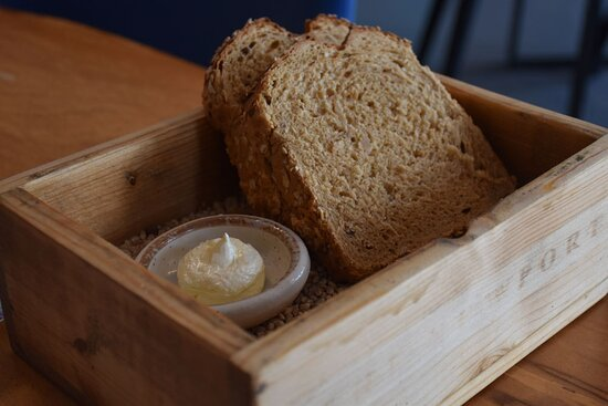 Deliciously memorable ale bread and whipped butter