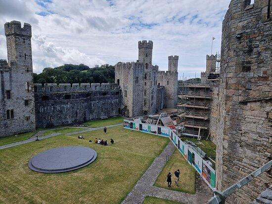 Eagle tower - Ảnh về Caernarfon Castle - Tripadvisor