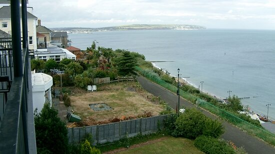 This was the view from our room (No 215) looking towards Culver Down in Sandown.