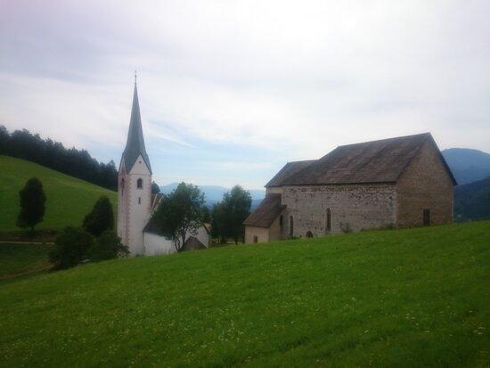 """Two churches of Leše (""""Leški cerkvi"""")"""