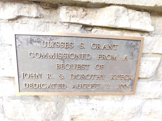 U.S. Grant Statue At Ohio Veteran's Home