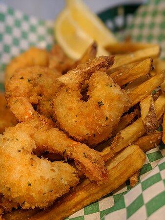 Eureka, MT: Deep Fried Jumbo SHrimp