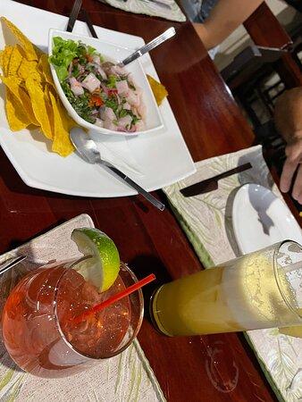 ceviche & cocktails