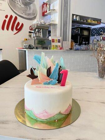 Phuket birthday cake