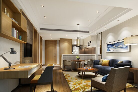 Living Room for Two Bedroom Deluxe