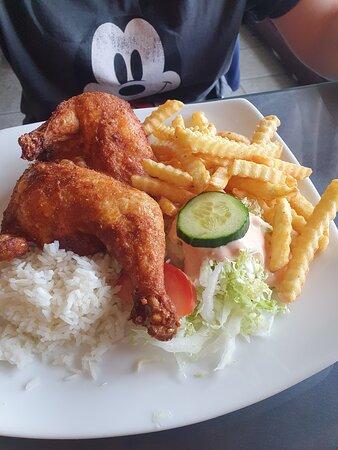 Leknes, Norway: Chicken