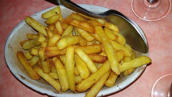 Complément de frites.