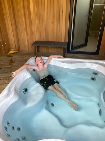Hot Tub- Told you it was big