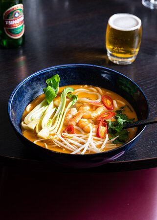 Lunchtime Tom Yum Soup