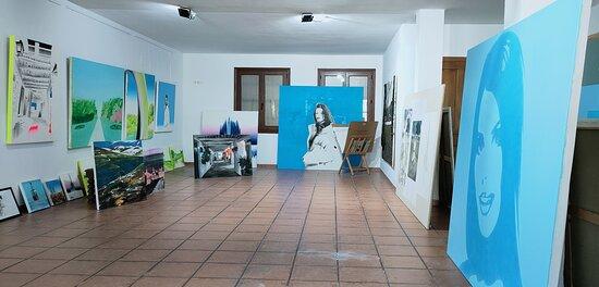 Interior de Art Studio.