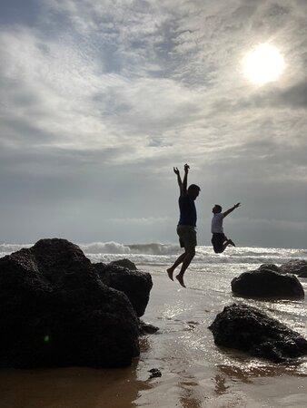 קולבה, הודו: It's near colva beach , water lagoon