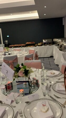 Table layout and Buffet