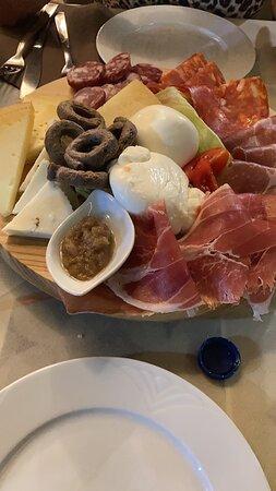 Alcuni piatti gustati qui. Olio delizioso - Antichi Sapori del Salento, Torre San Giovanni Resmi - Tripadvisor