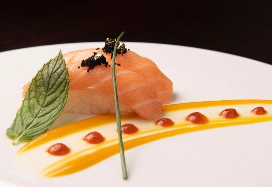 nigiri di salmone