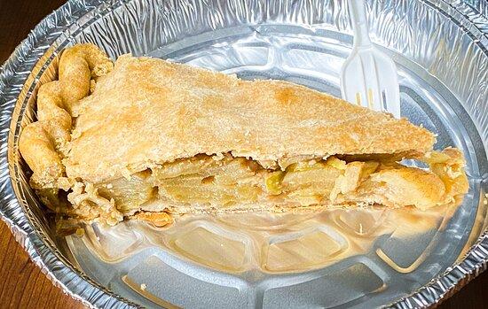 Apple pie to-go