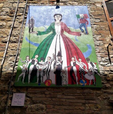 Omaggio al 150° dell'Unità d'Italia.
