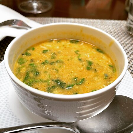 Chicken Mulligatawny Soup @ Arena