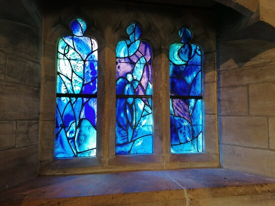 One of the 11 windows
