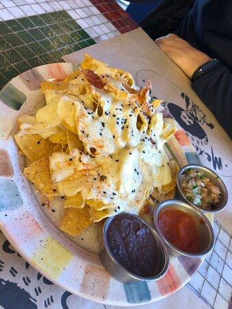Plato que es una mix de varias cosas que sirven, para 2, $1950 – Foto de mexicano cafe, San Carlos de Bariloche - Tripadvisor