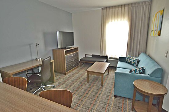 Mobility Accessible King Suite with Kitchenette Living Area