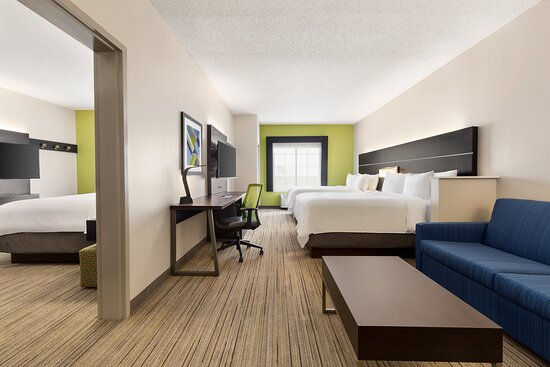 Our Suite has everything you need for a great night.