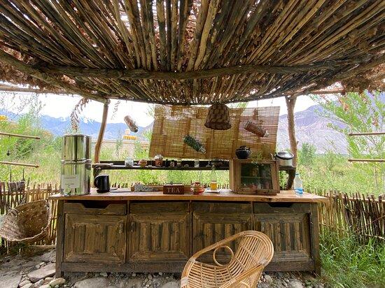 Ladakhi Kitchen Tea Station