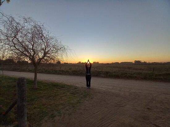 Saladillo, الأرجنتين: Atardecer en el campo...bellisimo!!!