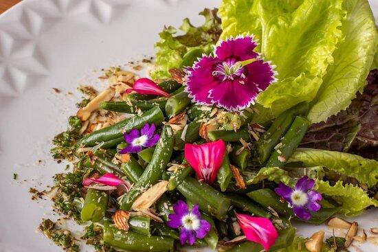 Holambra: Salada Francesa de Vagem