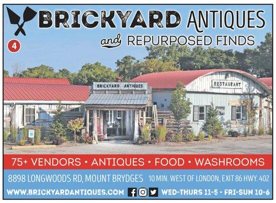 BrickYard Antiques & Repurposed Finds