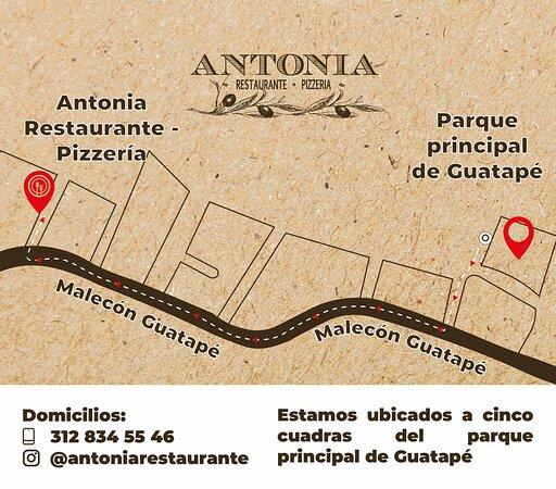 Te compartimos la ubicación de nuestro restaurante en Guatapé, llegar es muy fácil. ¡Te esperamos!
