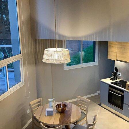 Cocina comedor en Suite Deluxe