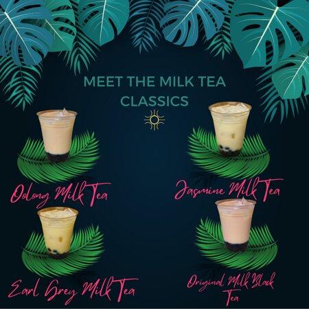 The Milk Tea Classics (Tea Based)
