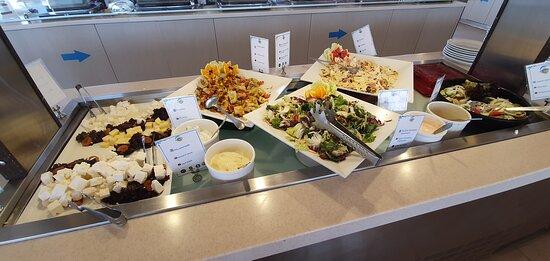 Salate mittags