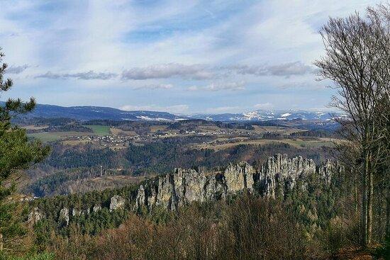 Full-Day Hiking in Bohemian Paradise Malá Skála near Prague