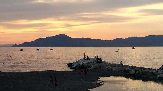 Sestri Levante.Panorama con il Golfo del Tigullio.