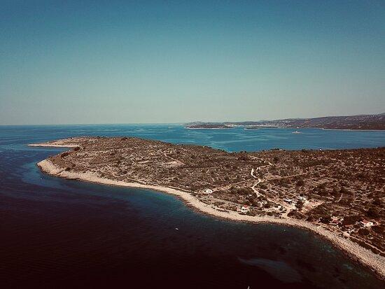Drvenik Mali, Κροατία: beautiful view from the bay of vela rina