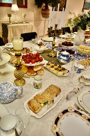 Afternoon Tea for private party for 16 guests