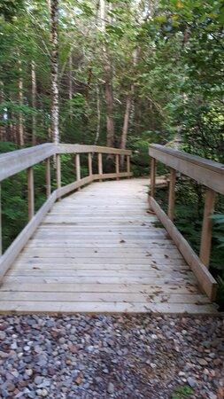 A bridge along the trail.
