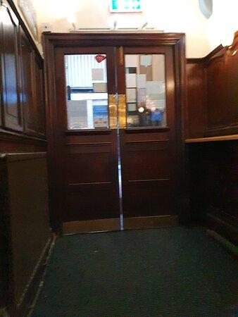 The Ye Hole In Ye Wall Pub along Hackins Hey