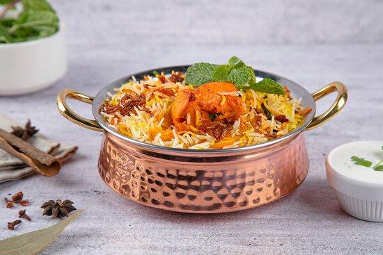 Chicken Tikka Biriyani, at Curry Pot, Indian Restaurant, Al Ain.