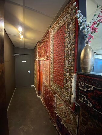 Decoratie in arabische sfeer.
