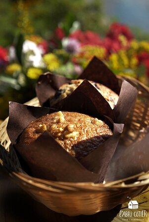 Nos délicieux muffin maison partent comme des petits pains chauds