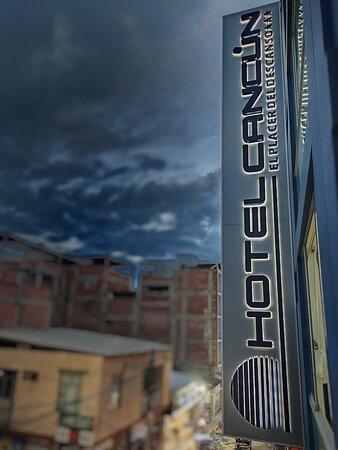 En el centro de la ciudad de Jaén