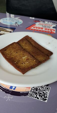 Could they spare the scrapple? It was yummy though and haven't had scrapple in ages.