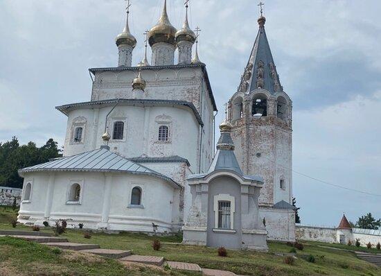 Chapel-Kivorium above the Tomb of P. P. Kozhin