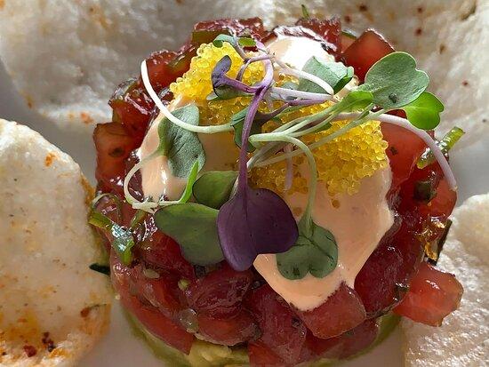 The Tuna Tartar was delicious!