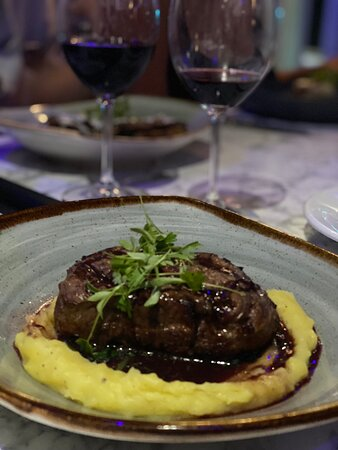 Amazing cuisine right in the heart of Isla Verde.  A culinary experience