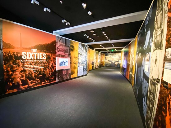 Admission to Richard Nixon Presidential Library and Museum Ticket: Gallery dedicated to the 60s